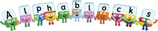 Alphablocks logo