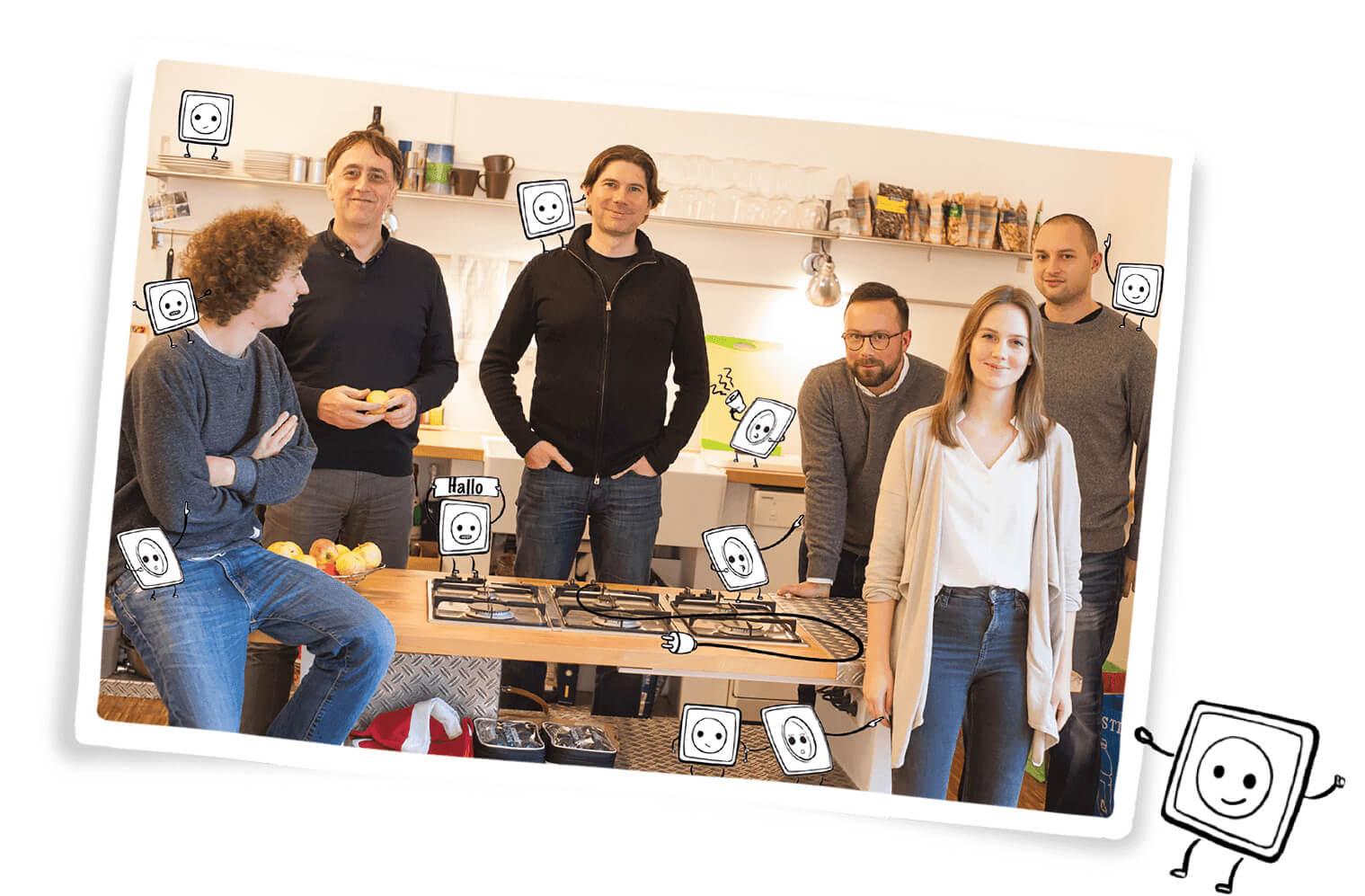 SwitchUp Stromanbieter Vergleich Team