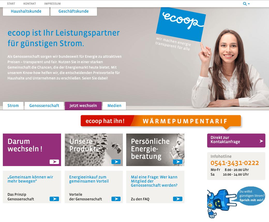 Ecoop Insolvenz