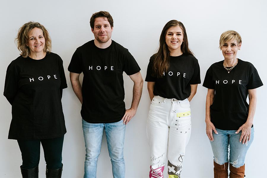 volunteers at Hope City Mission Croydon