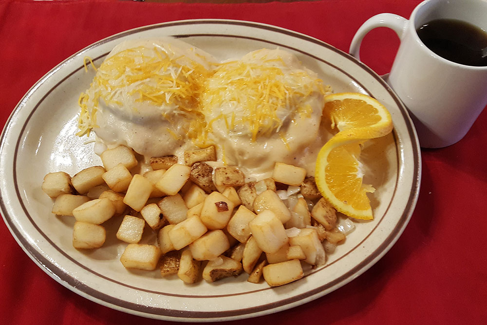 Give yourself a chance to get away from your cereal and oatmeal with a visit to one of Green Country's favorite spots for a substantial breakfast any day of the week like Shiloh's.