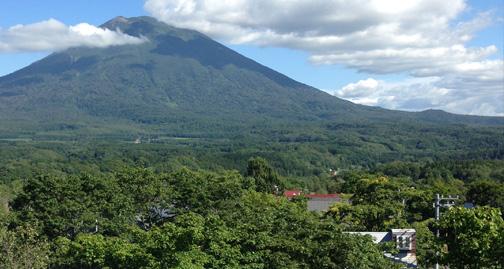 Photo of Mt Yotei in summer