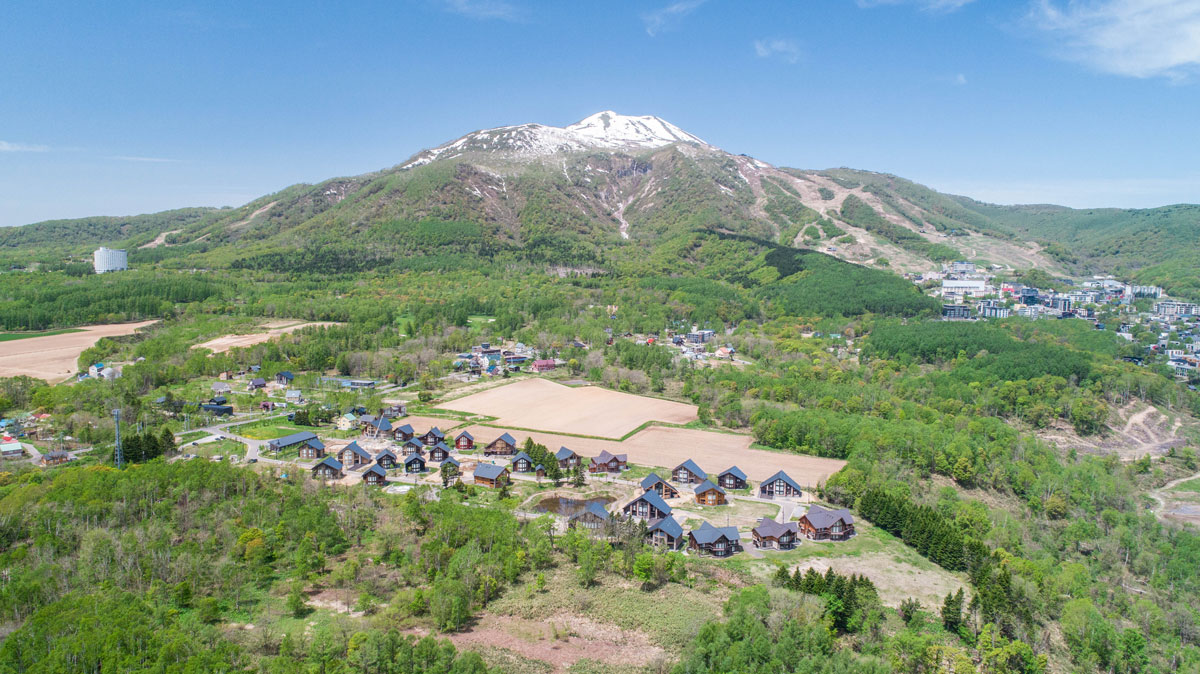 Aerial view of Country Resort Niseko