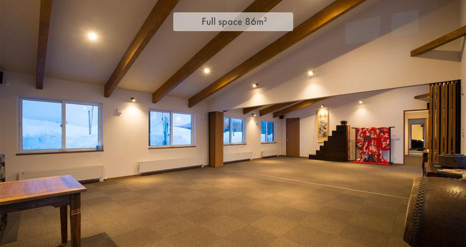 Event Space in Niseko