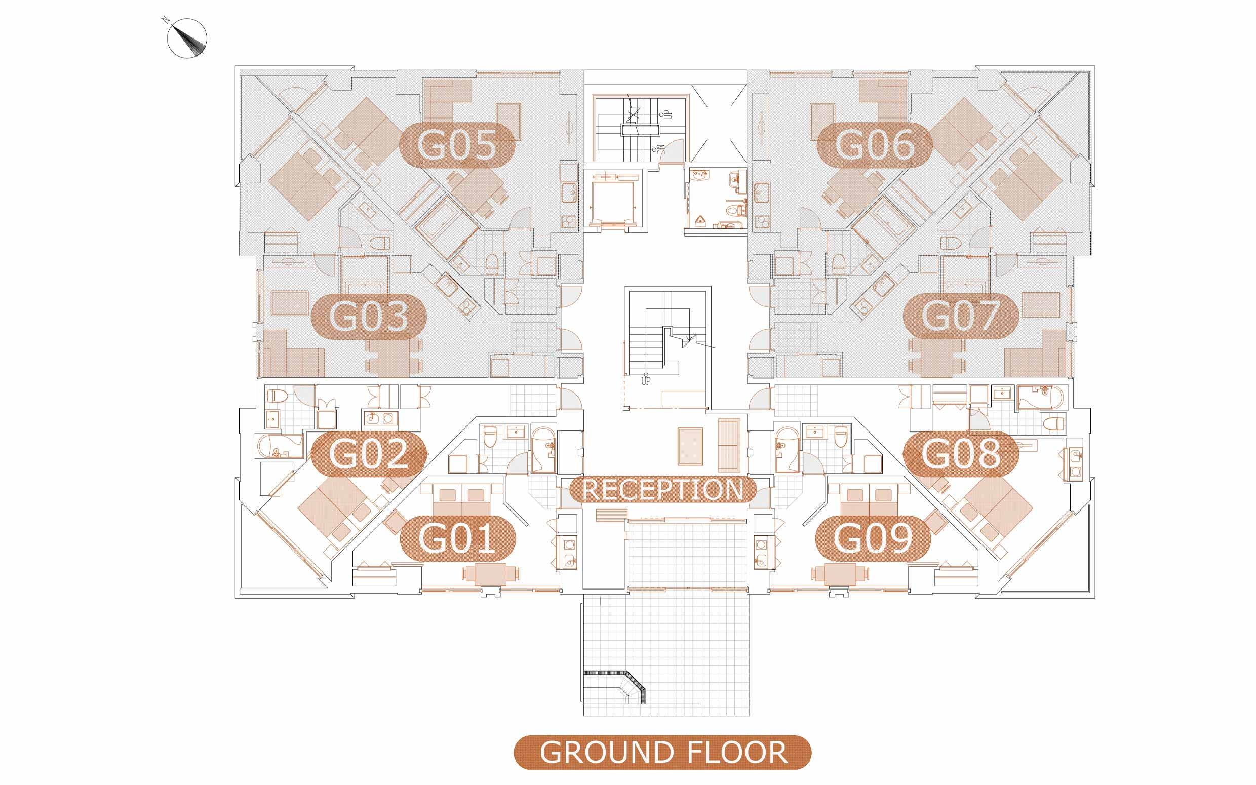 Akazora studio floorplan