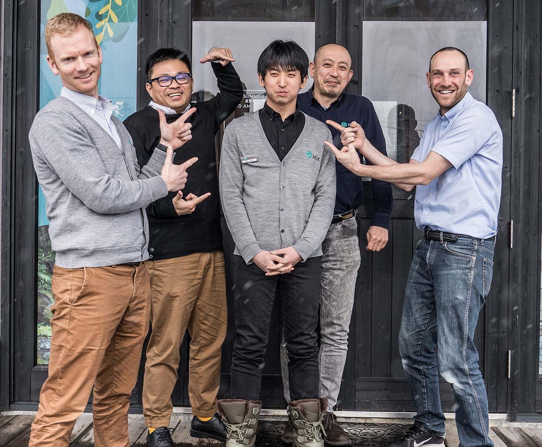 Akazora front desk team