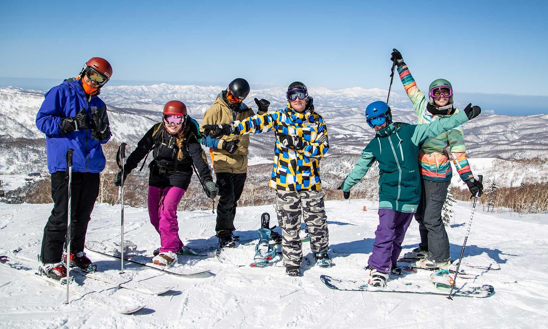 Team trip to Kiroro ski resort