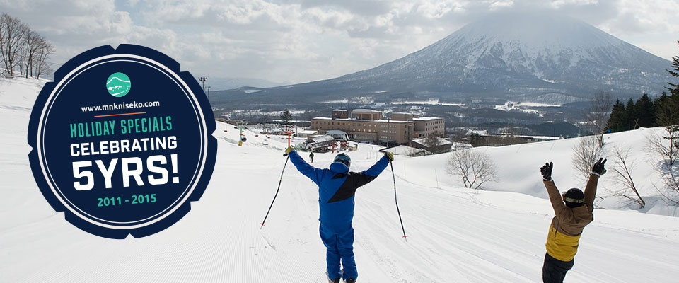 MnK Celebrates 5 Winters in Niseko