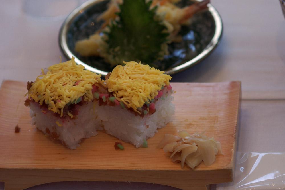 Omura Sushi dish