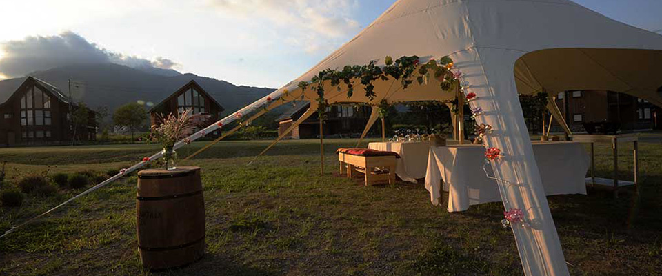Glamping at The Orchards Niseko