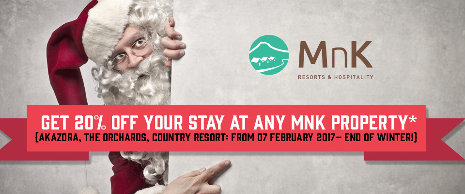 Santa Stays Video and Get 20% Off Your Stay This Winter