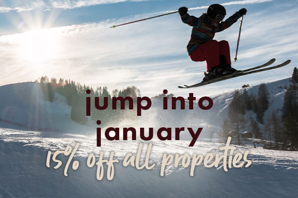 Jump into January 15% Off