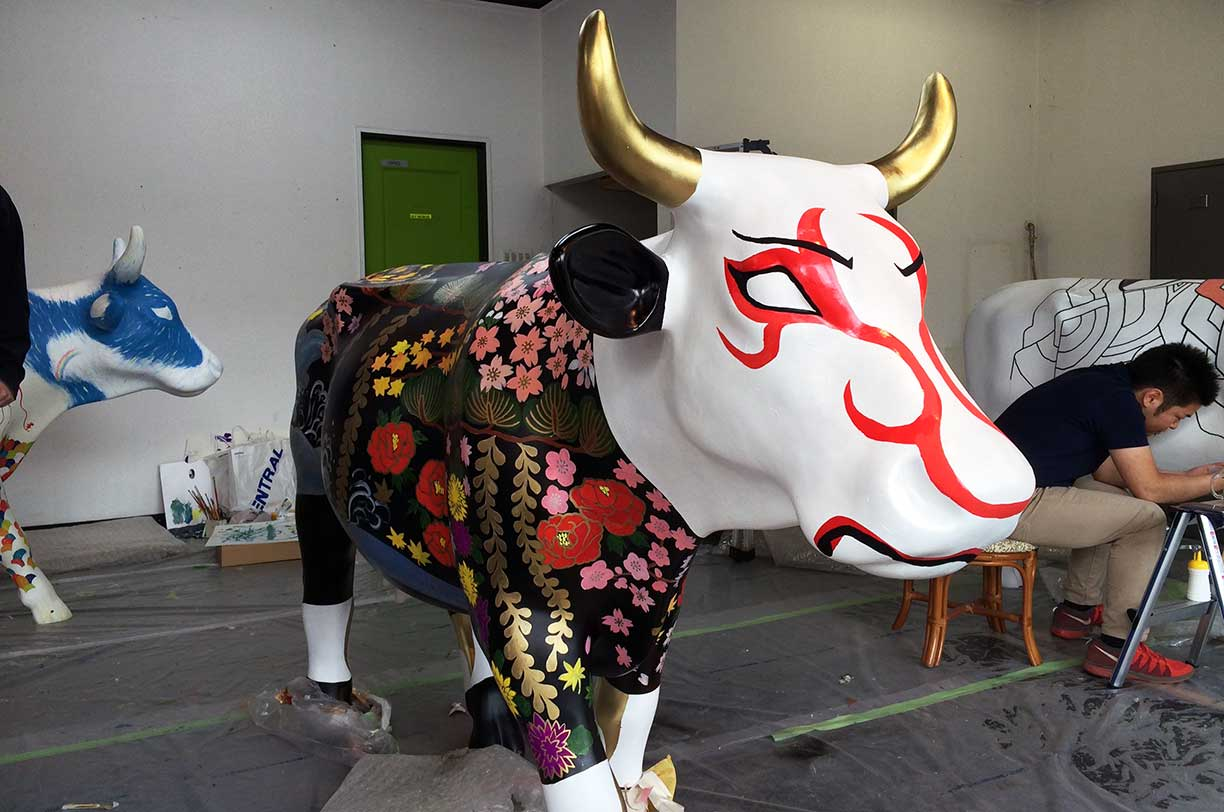 Niseko Cow Parade