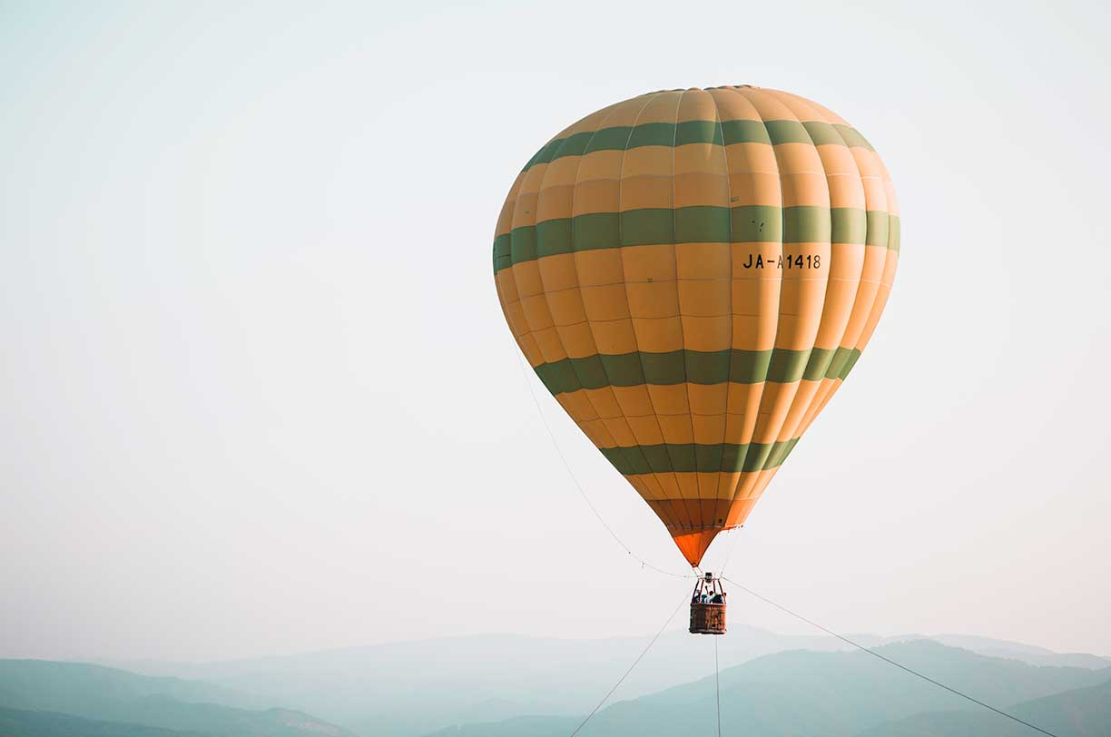 Get Uplifted With a Hot Air Balloon Ride