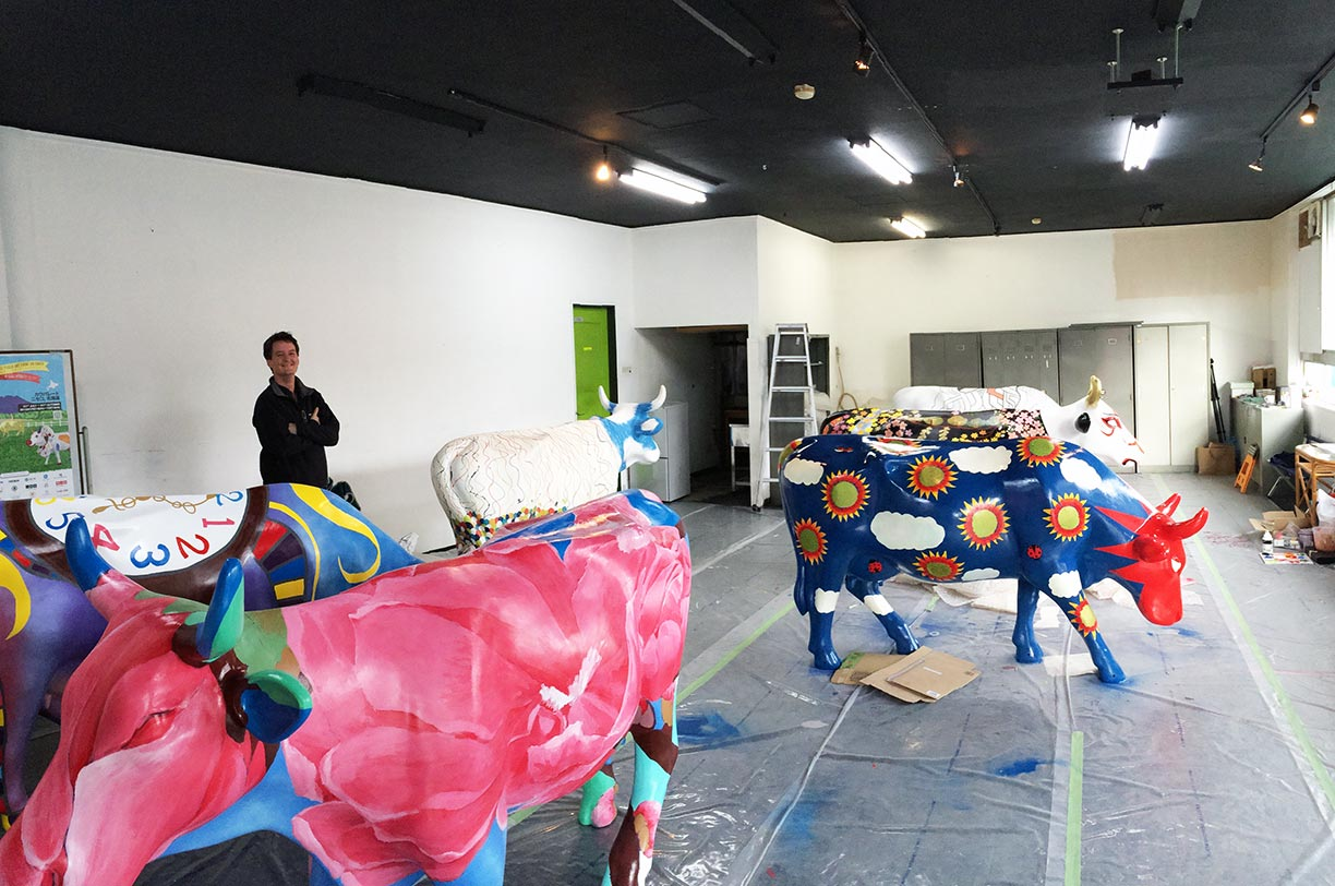 Meet the Maestros of the MnK Cow Parade Herd