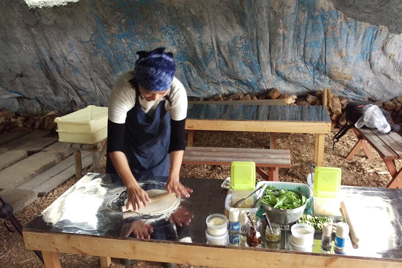 Niseko Green Farm pizza making experience