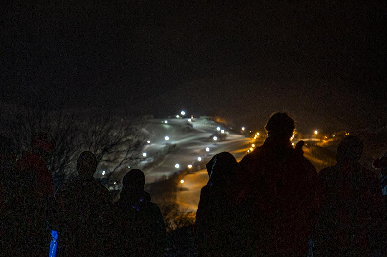 Night Skiing Is Underway in Niseko