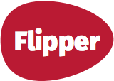 Flipper Homepage Logo Header