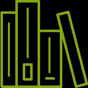 hauseigene Bibliothek Icon
