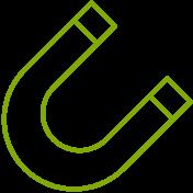 Geringe Fluktuation Icon