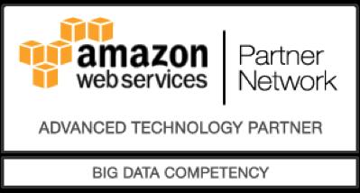amazon web services Partner Network Logo für Advanced Technology Partner mit Big Data Competency