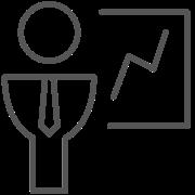 Flexibel auf den Markt reagieren Icon