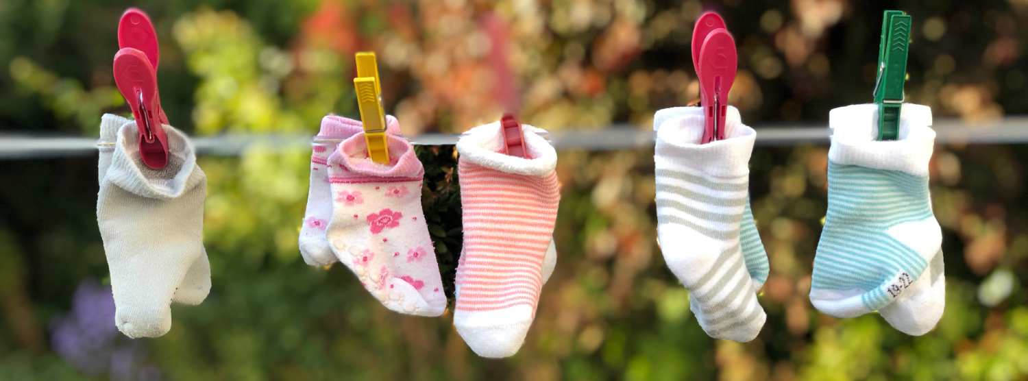 hang your cloths up outside in the summer