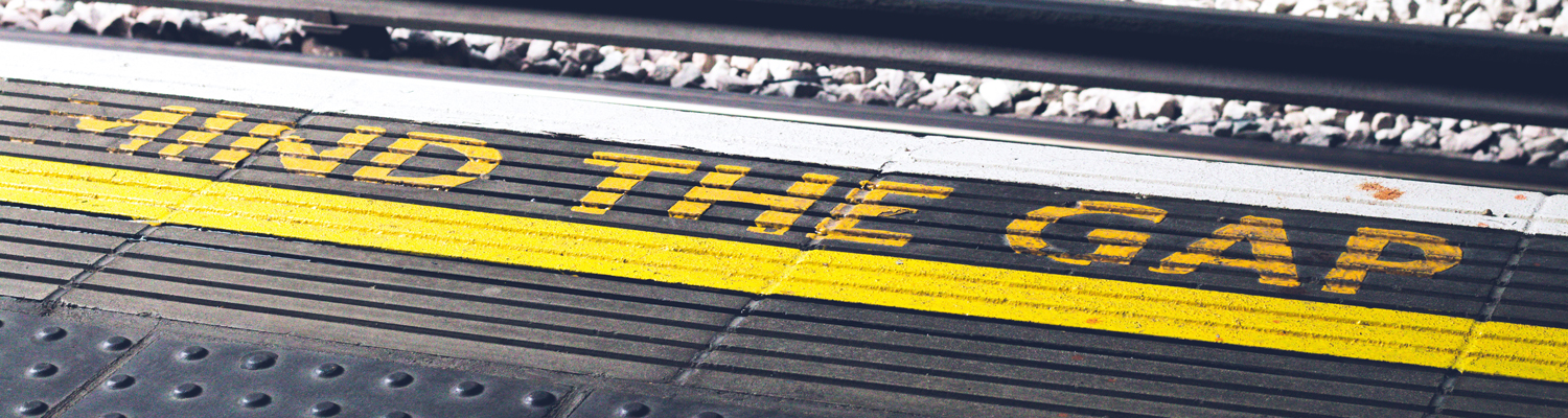 mind the gap - not the gap between the train and the platform edge, but on your windows that let air out and in
