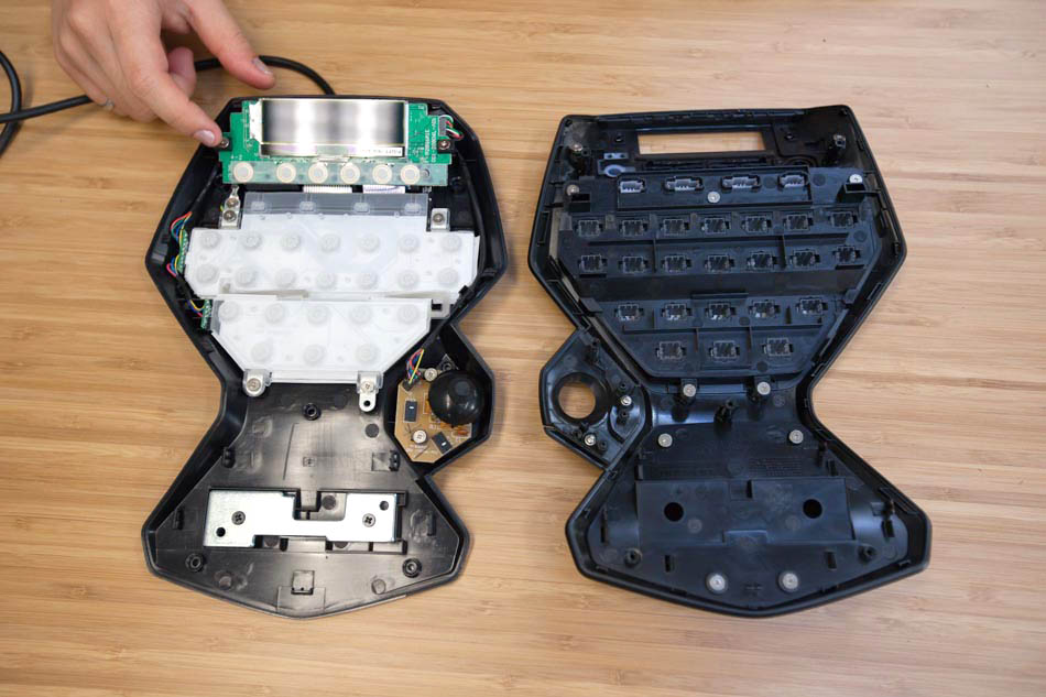 Logitech G13 Advanced Gameboard Teardown