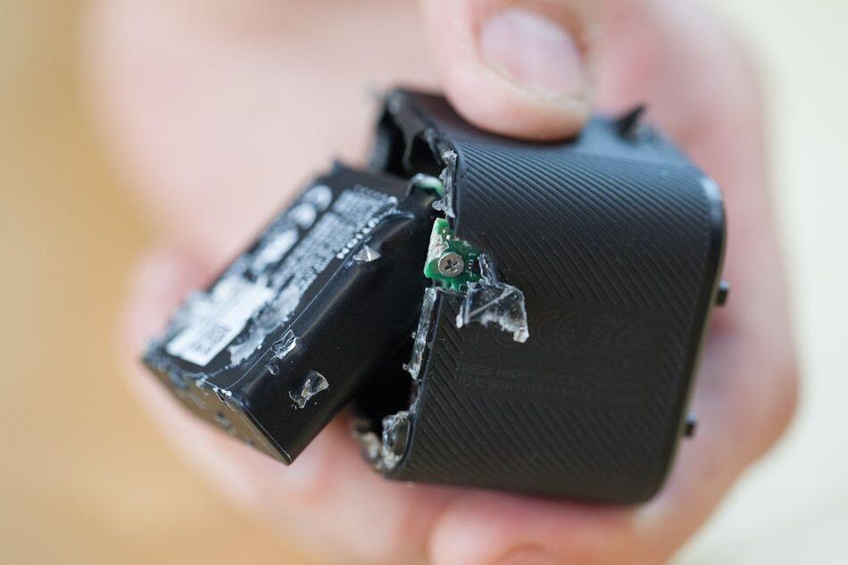 GoPro session teardown