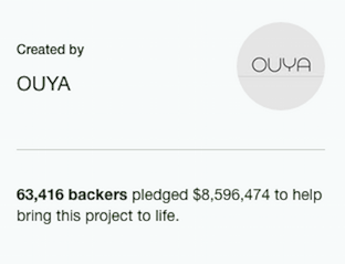 having a passionate community around your product attracts new backers