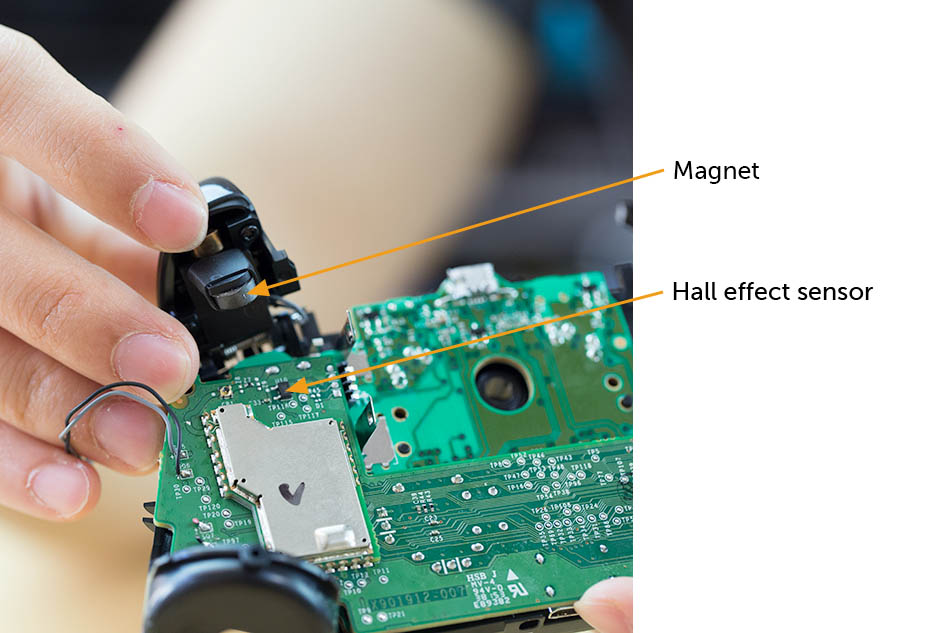 Xbox One controller trigger actuation