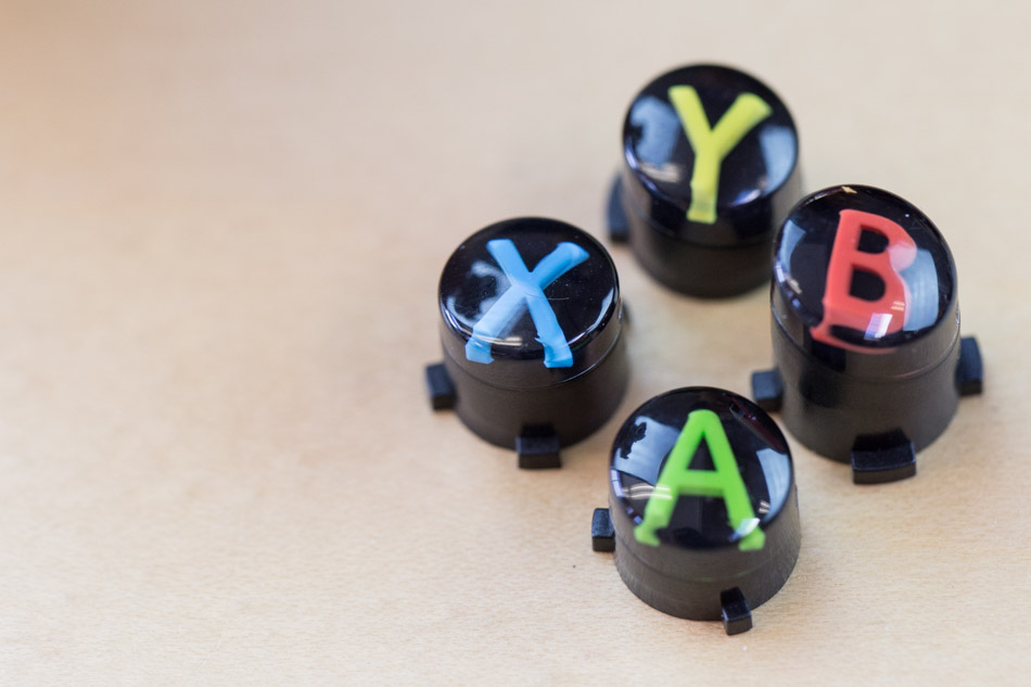 Xbox One controller ABXY buttons