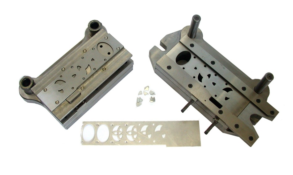 A stamped sheet metal part
