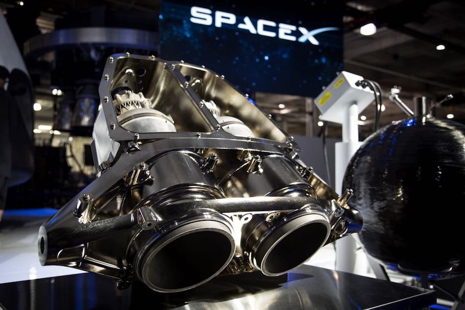 SpaceX is also using DMLS to produce their regeneratively-cooled SuperDraco Engine Chamber