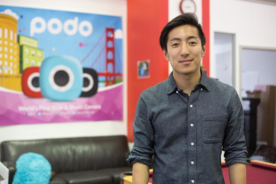 Podo co-founder Eddie Lee