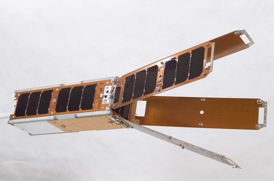 large single satellite