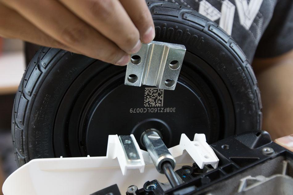 Segway miniPRO wheels and motor