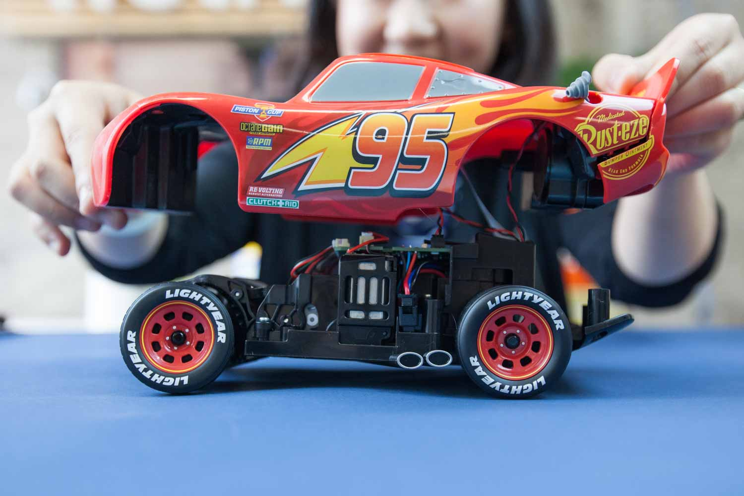 Ultimate Lightning Mcqueen Teardown