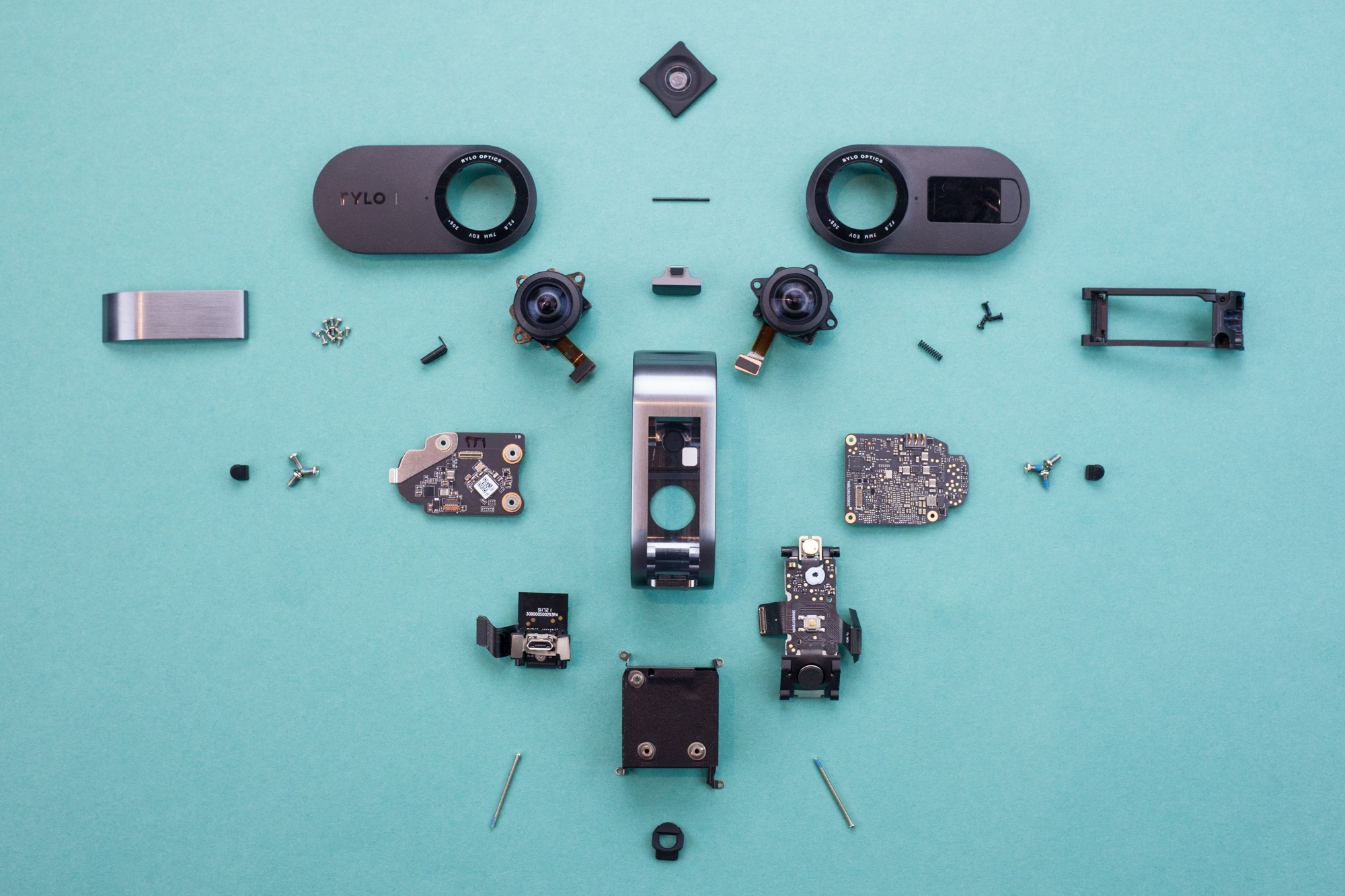 Rylo 360 camera teardown