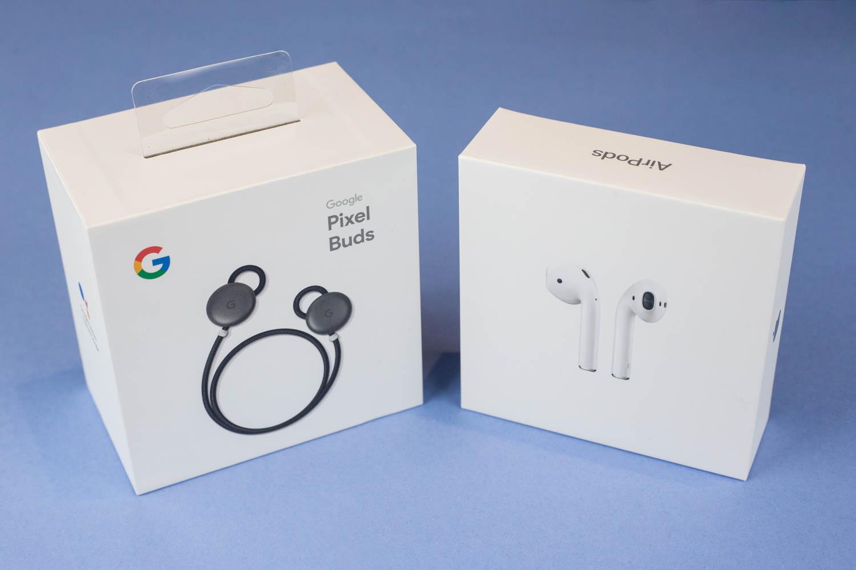 Apple Airpods vs. Google Pixel Buds Teardown