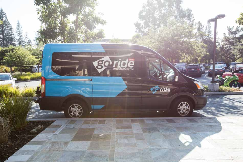 Ford Smart Mobility GoRide Intelligent Shuttle