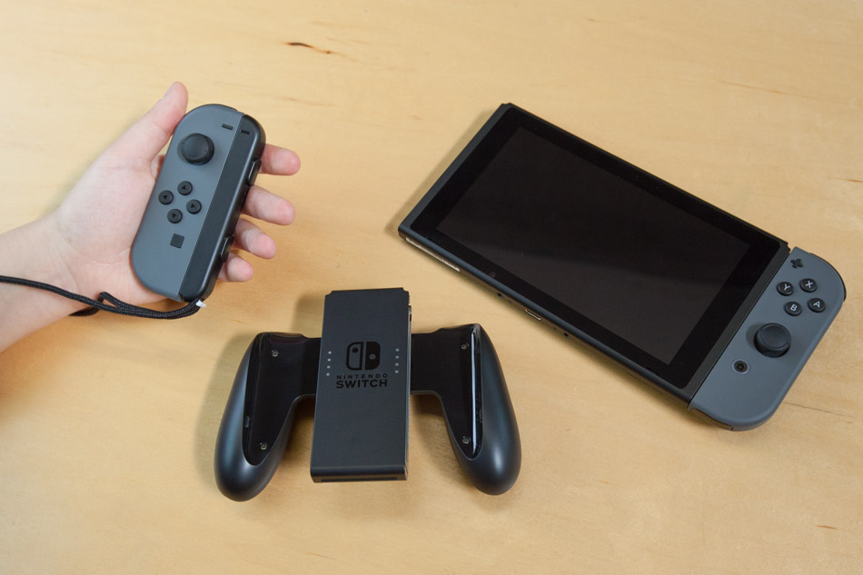 Nintendo Switch Controller and Console