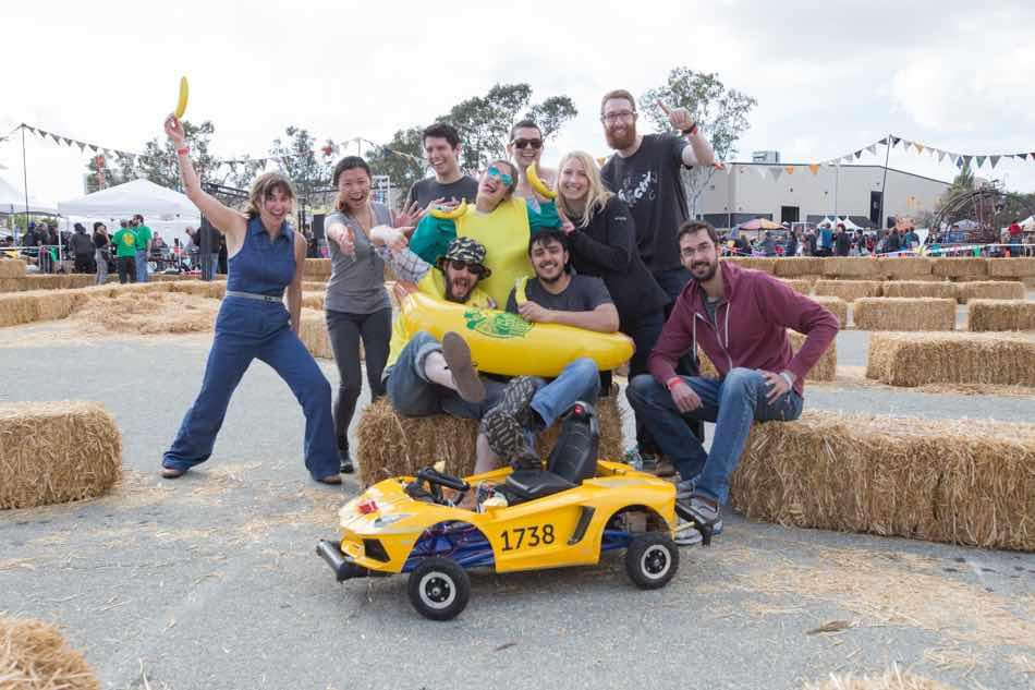 Maker Faire Power Racing Series
