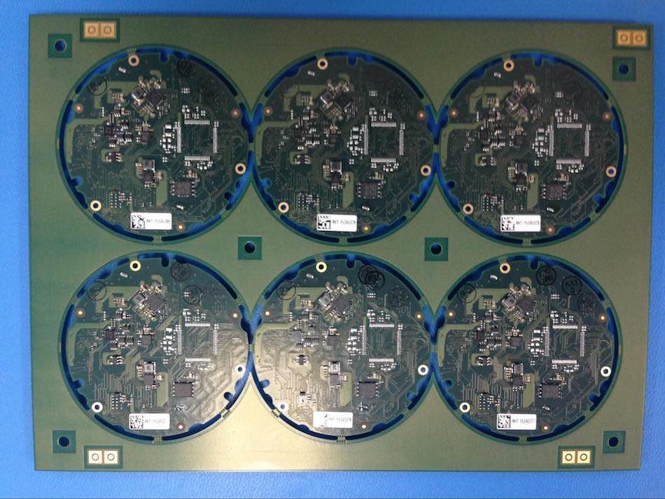 typical PCB panel design