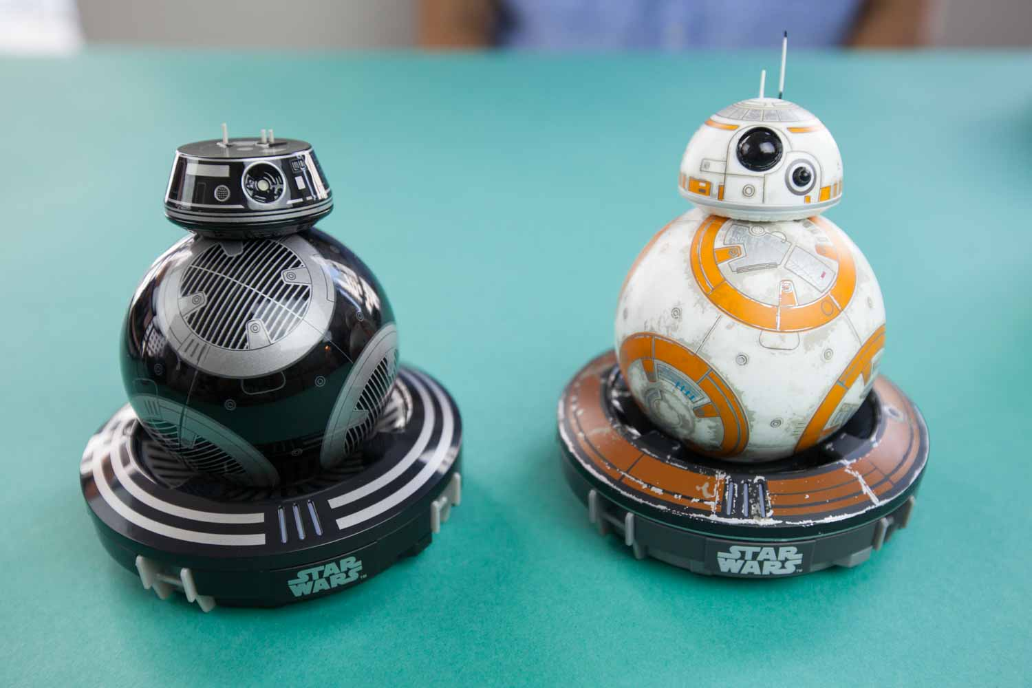 Sphero bb-8 and bb-9e star wars toys