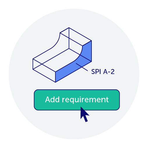 Easily add specific design requirements in 3D  ‍
