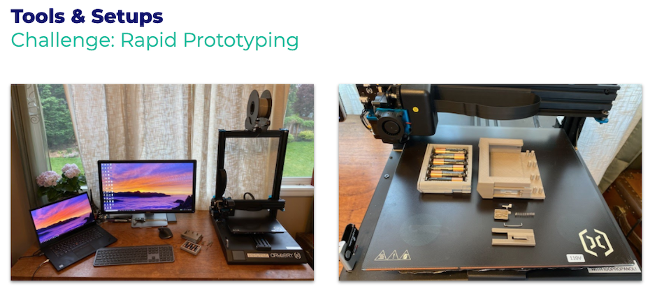 at-home rapid prototyping setup