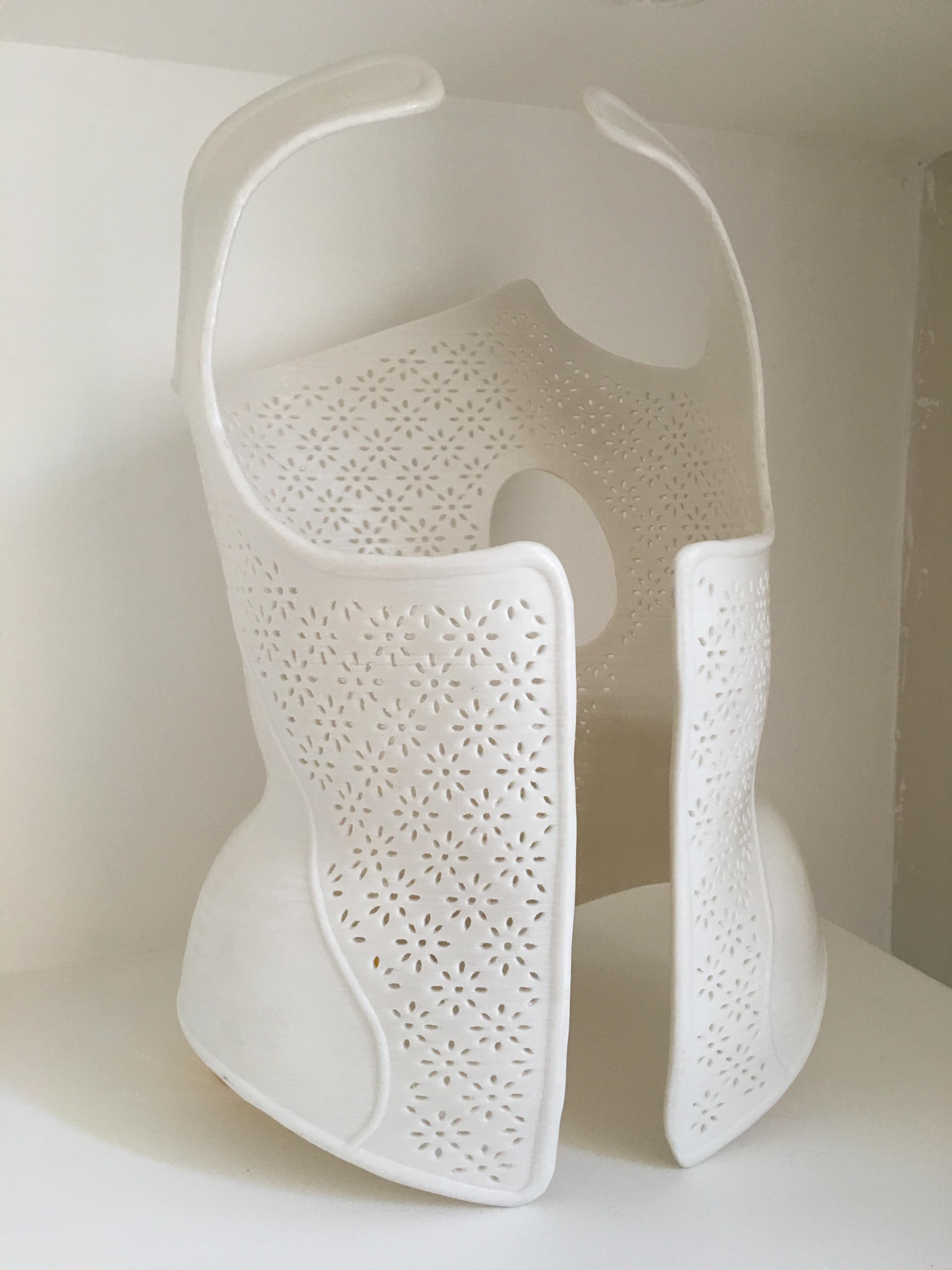 3D printed scoliosis brace