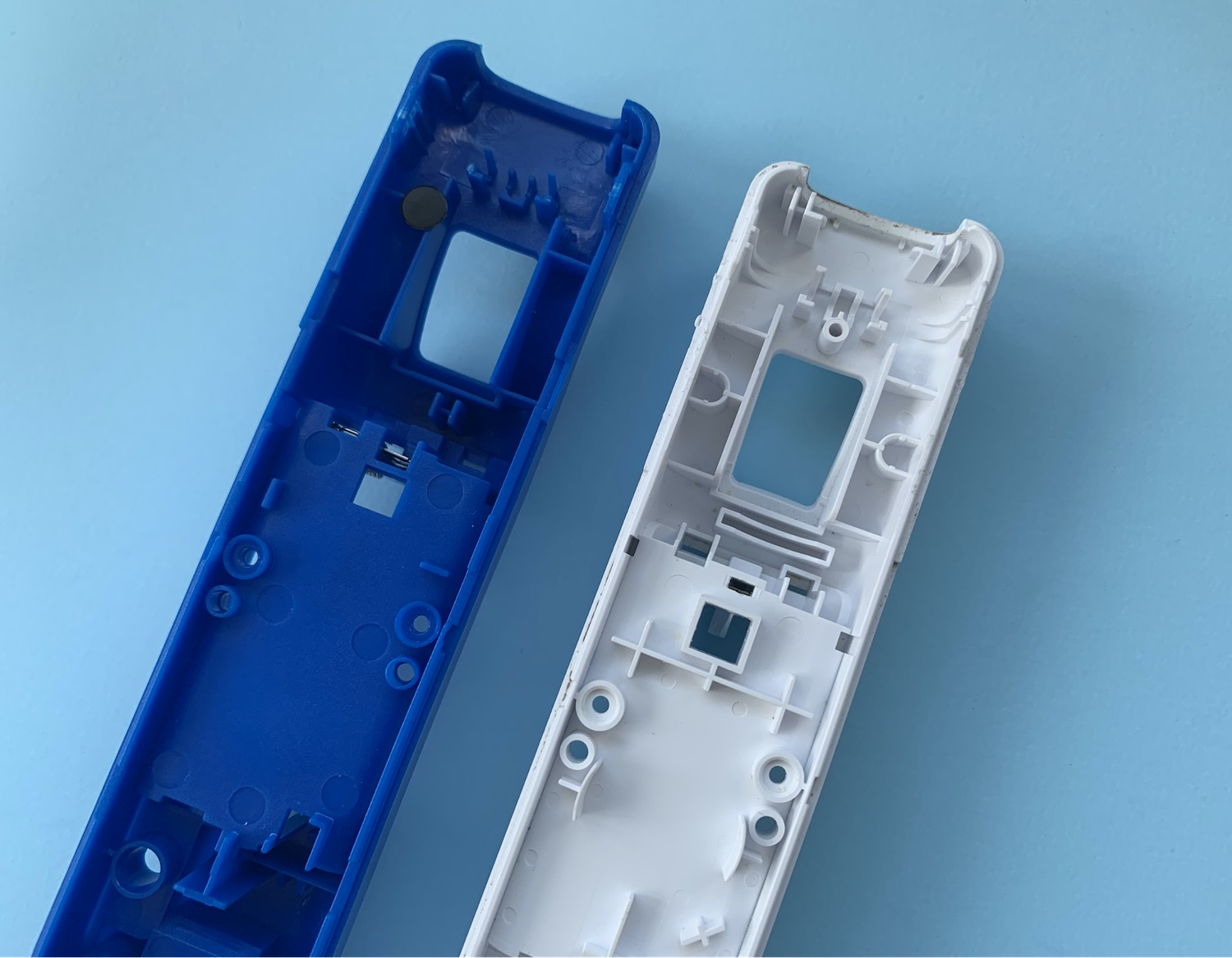 Wiimote and fake Wiimote enclosures